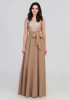 f8151988f30 Купить женские макси платья бежевые от 740 руб в интернет-магазине ...