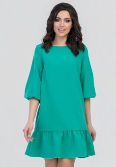 Платье, Eva, цвет: зеленый. Артикул: MP002XW0ZZBZ. Одежда / Платья и сарафаны