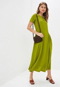88c602de55dd527 Платье, Tantino, цвет: зеленый. Артикул: MP002XW12BOS. Одежда / Платья и