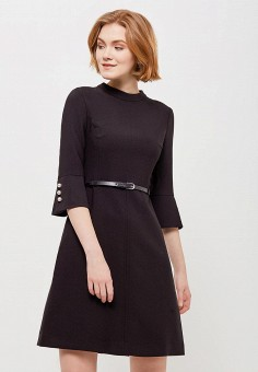 Платье, Villagi, цвет: черный. Артикул: MP002XW13NZJ. Одежда / Платья и сарафаны