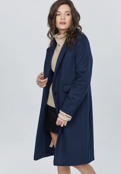 cbab0161ed8 Купить синие женские пальто от 1 749 руб в интернет-магазине Lamoda.ru!