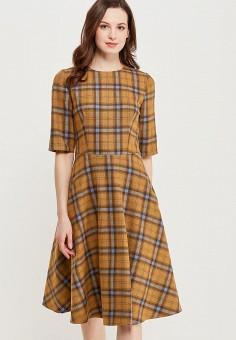 Платье, Alina Assi, цвет: желтый. Артикул: MP002XW13QFY. Одежда / Платья и сарафаны