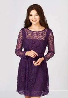 Платье, Ано, цвет: фиолетовый. Артикул: MP002XW13RO2. Одежда / Платья и сарафаны