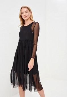 4c76cd3231d Купить женские платья-миди черные от 399 руб в интернет-магазине ...