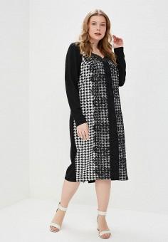 Платье, KR, цвет: черный. Артикул: MP002XW13WV1. Одежда / Платья и сарафаны