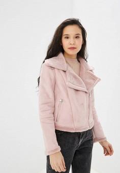 cfe074aa1d1eec Дубленка, Befree, цвет: розовый. Артикул: MP002XW14U2O. Одежда / Верхняя  одежда