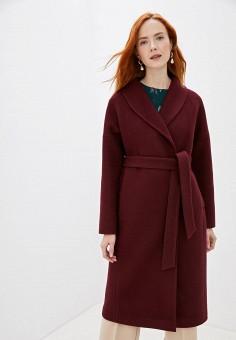 Пальто, Doroteya, цвет: бордовый. Артикул: MP002XW155Z1. Одежда / Верхняя одежда / Пальто / Зимние пальто