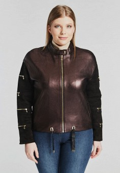 Куртка кожаная, Mondial, цвет  фиолетовый. Артикул  MP002XW15IQQ. d9bf8423db1