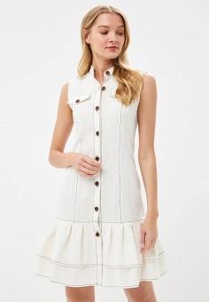 Платье, Tantino, цвет: белый. Артикул: MP002XW15JY5. Одежда / Платья и сарафаны