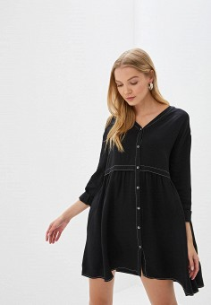 cb690a9c3f3bc06 Платье, Befree, цвет: черный. Артикул: MP002XW18MPR. Одежда / Платья и