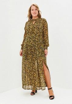 Платье, Berkline, цвет: коричневый. Артикул: MP002XW18WYG. Одежда / Платья и сарафаны