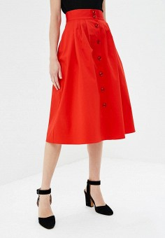 bd6e6cba48e Купить красные женские юбки от 399 руб в интернет-магазине Lamoda.ru!