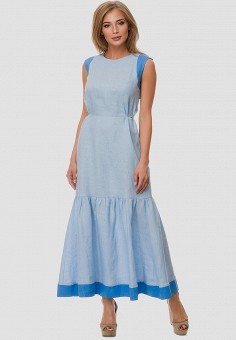 60ff43ba09d Купить женские макси платья из льна от 1 880 руб в интернет-магазине ...