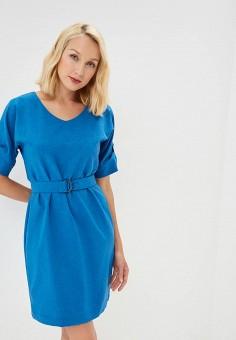 Платье, Eliseeva Olesya, цвет: синий. Артикул: MP002XW1941A. Одежда / Платья и сарафаны
