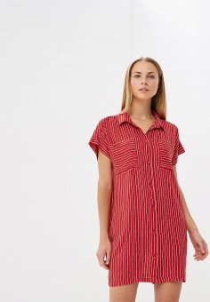 Платье, Vera Nicco, цвет: красный. Артикул: MP002XW194ZN. Одежда / Платья и сарафаны