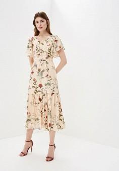 Платье, Akhmadullina Dreams, цвет: бежевый. Артикул: MP002XW195G3. Одежда / Платья и сарафаны