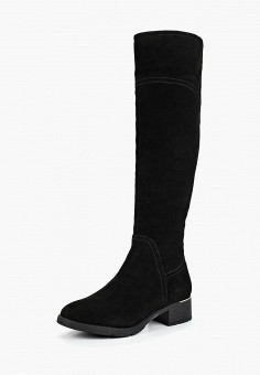 8504dbd7 Ботфорты, Pierre Cardin, цвет: черный. Артикул: MP002XW19EC0. Обувь / Сапоги