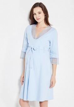 f24c34ec9b70d Халат домашний, Hunny mammy, цвет: голубой. Артикул: MP002XW1AKEA. Одежда /