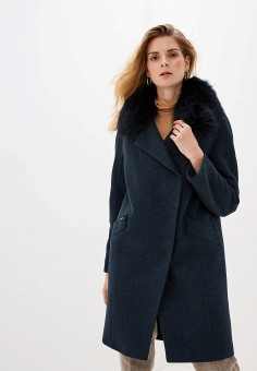 Пальто, Avalon, цвет: синий. Артикул: MP002XW1BX3Q. Одежда / Верхняя одежда / Пальто / Зимние пальто