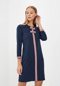 Платье, Gregory, цвет: синий. Артикул: MP002XW1CS62. Одежда / Платья и сарафаны