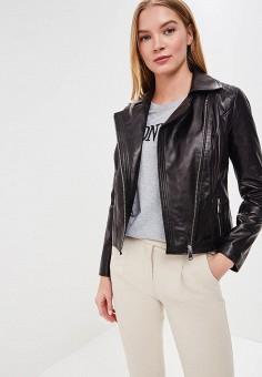 Куртка кожаная, Grafinia, цвет: черный. Артикул: MP002XW1F7TK.