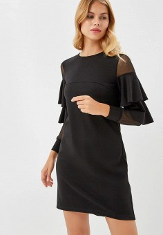 Платье, Raya, цвет: черный. Артикул: MP002XW1GJZP. Одежда / Платья и сарафаны