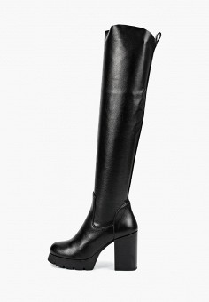 e575619e Ботфорты, Tervolina, цвет: черный. Артикул: MP002XW1GR4I. Обувь / Сапоги /