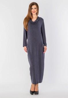 Платье, Malena, цвет: серый. Артикул: MP002XW1GSTK. Одежда / Платья и сарафаны