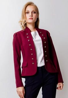 Жакет, MadaM T, цвет  бордовый. Артикул  MP002XW1GY74. Одежда   Одежда b0b1d03b22b