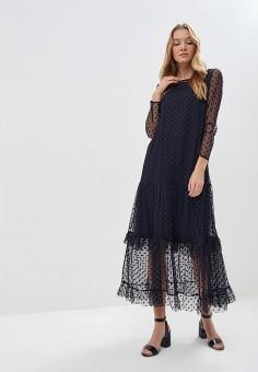 Платье, Aelite, цвет: синий. Артикул: MP002XW1GYAK. Одежда / Платья и сарафаны