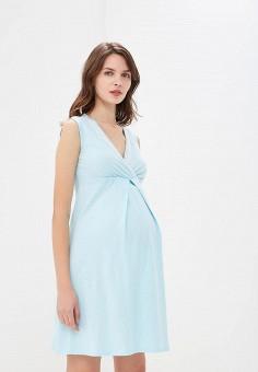 Сорочка ночная, Очаровательная Адель, цвет  голубой. Артикул  MP002XW1GZIO.  Одежда   cc9a663bd1b