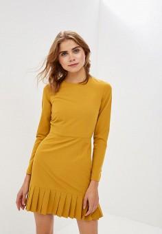 Платье, Self Made, цвет: желтый. Артикул: MP002XW1HAG5. Одежда / Платья и сарафаны