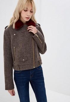 Полупальто, Ruxara, цвет  коричневый. Артикул  MP002XW1HC40. Одежда    Верхняя одежда deb7ce399e4