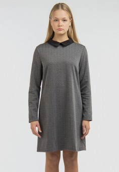 Платье, Intrico, цвет: серый. Артикул: MP002XW1HCBY. Одежда / Платья и сарафаны