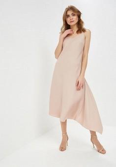 40c69c8a69f58 Платье, Nastasia Sabio, цвет: бежевый. Артикул: MP002XW1HTR2. Одежда /  Платья
