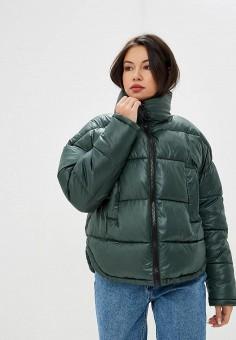 ab50b920173a Куртка утепленная, Befree, цвет  зеленый. Артикул  MP002XW1HY7J. Одежда    Верхняя
