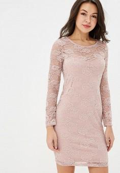 Платье, Incity, цвет  розовый. Артикул  MP002XW1I2HV. Одежда   Платья и 14fbe849959