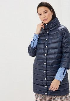 83045b73309de Куртка утепленная, Zarina, цвет: синий. Артикул: MP002XW1I4HL. Одежда /  Верхняя