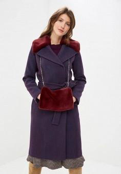 Пальто, Ruxara, цвет: фиолетовый. Артикул: MP002XW1I8E2. Одежда / Верхняя одежда / Пальто / Зимние пальто
