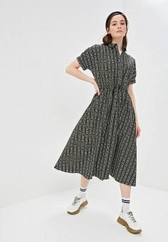 f572db76db4a036 Платье, Befree, цвет: зеленый. Артикул: MP002XW1IDZ3. Одежда / Платья и