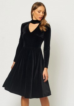 4b4b94c6cef59b4 Платье, Russicouture, цвет: черный. Артикул: MP002XW1IG59. Одежда / Платья и