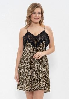 7dc6618123f4562 Сорочка ночная, Cleo, цвет: коричневый. Артикул: MP002XW1IILS. Одежда /  Домашняя