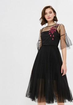 9f3359de8bea796 Платье, Zarina, цвет: черный. Артикул: MP002XW1IK2S. Одежда / Платья и