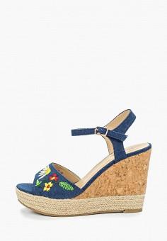 298506593 Босоножки, T.Taccardi, цвет: синий. Артикул: MP002XW1IN2C. Обувь /