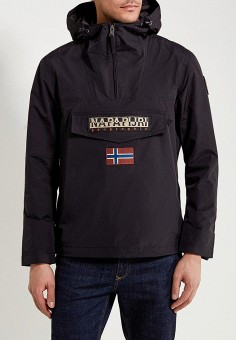 df1f66172ded Ветровка, Napapijri, цвет: черный. Артикул: NA154EMAHTU1. Одежда / Верхняя  одежда