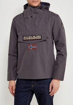 5fd740185bbf Ветровка, Napapijri, цвет: серый. Артикул: NA154EMAHTU6. Одежда / Верхняя  одежда
