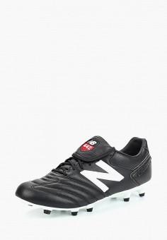 98501af21f72 Бутсы, New Balance, цвет  черный. Артикул  NE007AMBZPN2. Спорт   Футбол