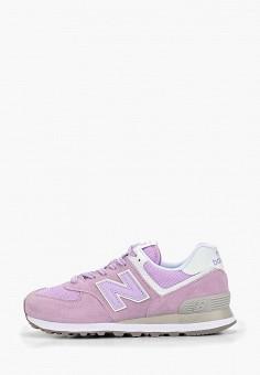 db4b503f Кроссовки, New Balance, цвет: фиолетовый. Артикул: NE007AWEBAX4. Обувь /  Кроссовки
