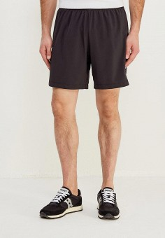 Шорты спортивные, New Balance, цвет  черный. Артикул  NE007EMAGFY5. Одежда   91a3cf59ba7