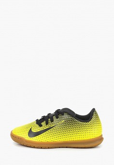 721eaa79f0a1 Бутсы зальные, Nike, цвет  желтый. Артикул  NI464AKDMZE5. Мальчикам   Спорт